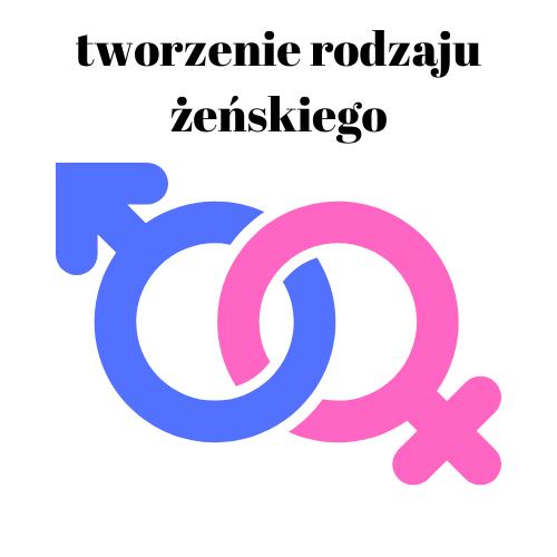 Tworzenie rodzaju żeńskiego w języku hiszpańskim