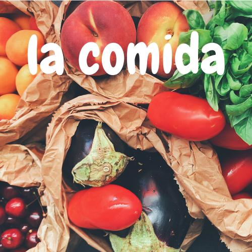 Jedzenie- hiszpańskie słownictwo: ćwiczenia